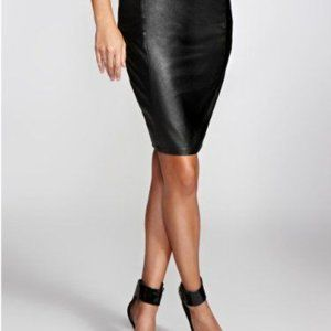 *TRENDING* Guess Faux-Leather Skirt - Size 4